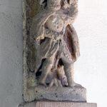 Romanische Christophorusplastik