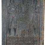 Grabplatte des Melchior von Uslar und seiner Frau Margarete
