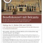 Benefizkonzert mit Belcanto